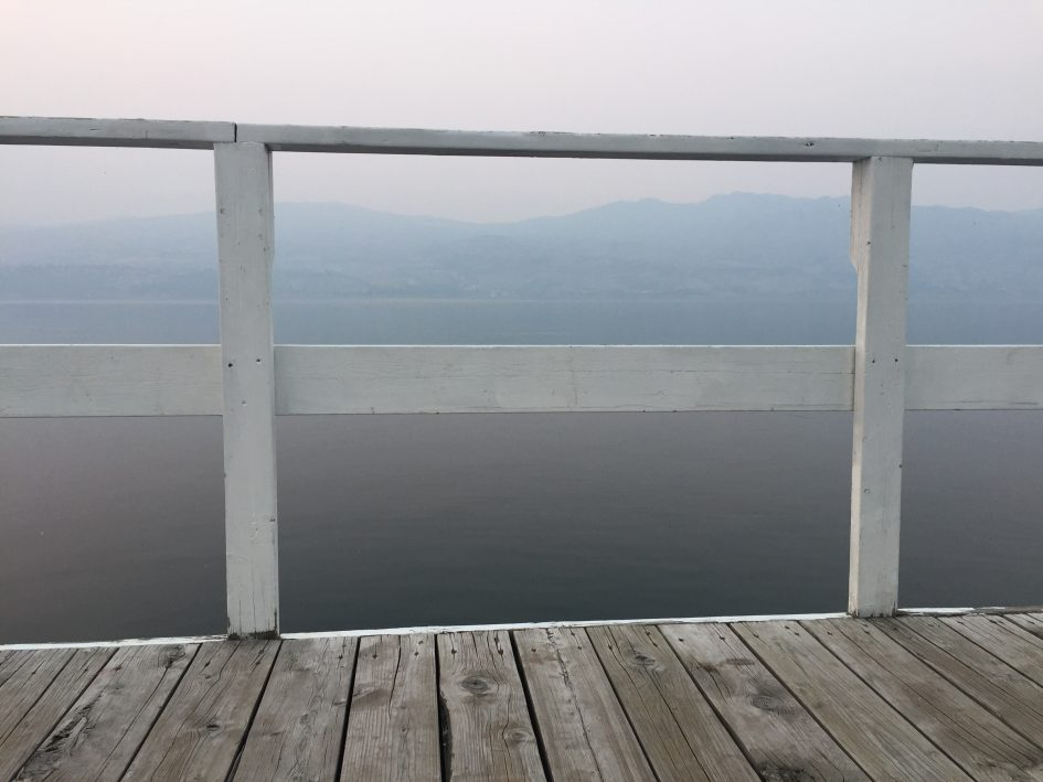 Smoky Okanagan Lake